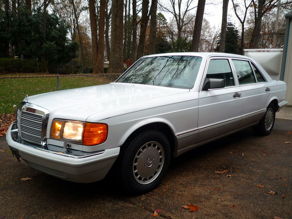 Buy used amazing final year w126 420sel with electronic for Mercedes benz richmond virginia
