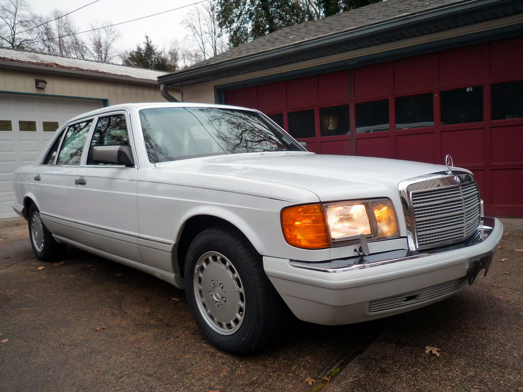 Buy Used Amazing Final Year W126 420sel With Electronic Anti Slip 1993 Mercedesbenz 400sel Engine Wiring Harness Genuine To Restore The Ride And Handling Of This Exceptional Mercedes Benz All Four Tires Were Just Replaced New Good Assurance Touring Radials Which Are